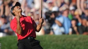 Tiger Woods Won 2008 U.S. Open [Courtesy: www.bbc.co.uk] sports