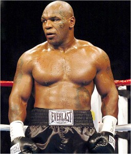Iron Mike Tyson [Courtesy: Everlast Sponsor] sports politics personal finance