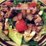 #Hamburger #Salad! #recipe #foodie #healthyeats #healthyeating