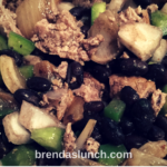 Turkey Bean Medley! brendaslunch foodie lunch lunchidea dinner idea lowfat lowcarb hearthealthy healthyeats healthyeating