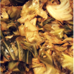 #TodaysLunch is Mixed Cabbages! #hearthealthy #hearthealth #foodie #foodshare