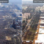 2017 Inauguration Crowd Size [Photo Courtesy: New York Times] politics