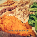 Roasted Chicken Breast w/ Sweet Potato & Broccoli brendaslunch healthyeats healthyeating lunch ideas dinner ideas