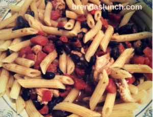 Chef Lo's Chicken Cacciatore Over Penne Pasta lunch dinner lunchidea dinneridea healthymeal healthyeats healthyfood foodie