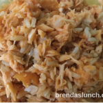 #TodaysLunch is Salmon Rice! #recipe #recipes #foodie #healthyeats